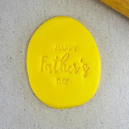 Happy Father's Day Cookie/ Fondant Embosser