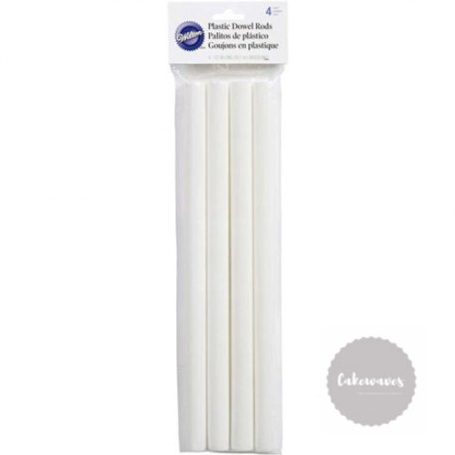 Plastic Dowel Single Piece - Large