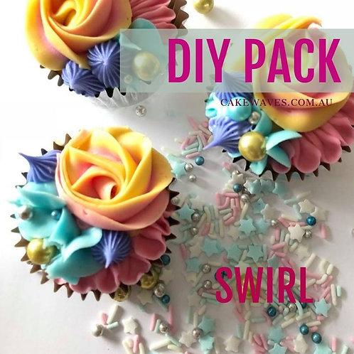 DIY Cupcake Activity Pack - Swirl
