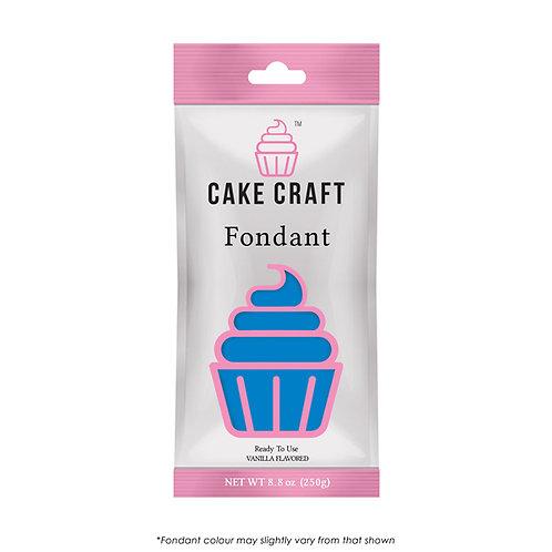 Cake Craft Fondant - Electric Blue 250g