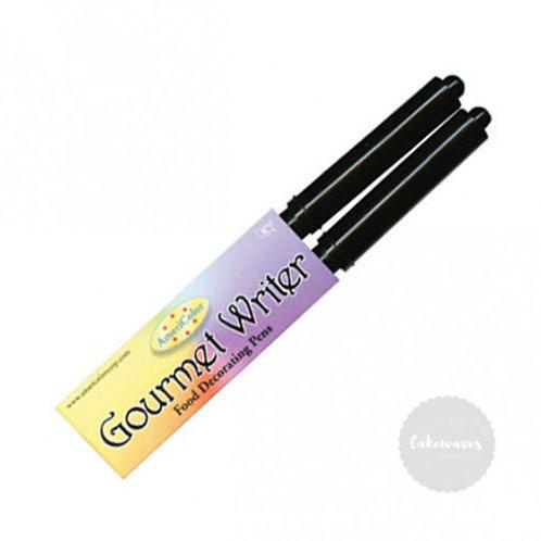 Americolor BLACK Food Decorating Pens - Pack of 2