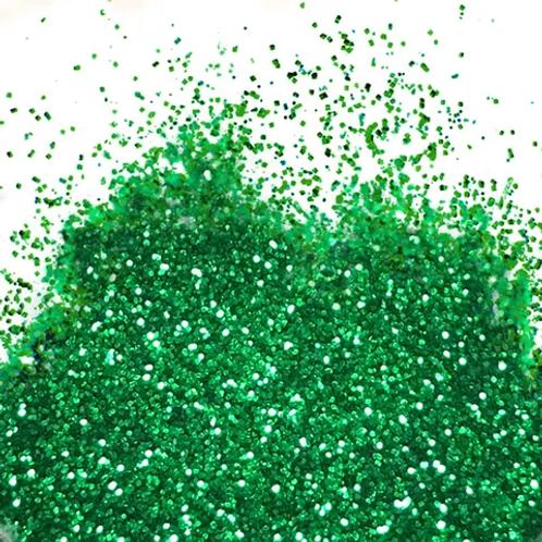Barco Flitter Glitter 10ml Non Toxic - Forest Green