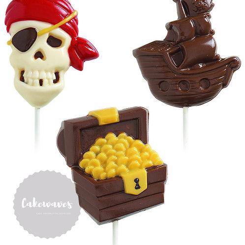 Pirate Lollipop Mould