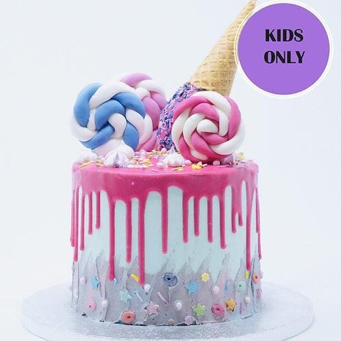 Icecream Drip Cake Class