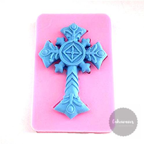 Decorative Cross Silicone Moluld