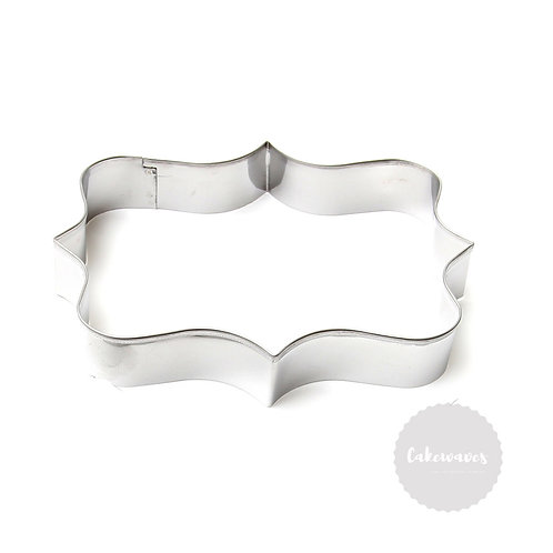 Large Plaque ADRIANA Stainless Steel Cookie Cutter
