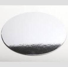 Cardboard Round, Square Cake Boards  Silver