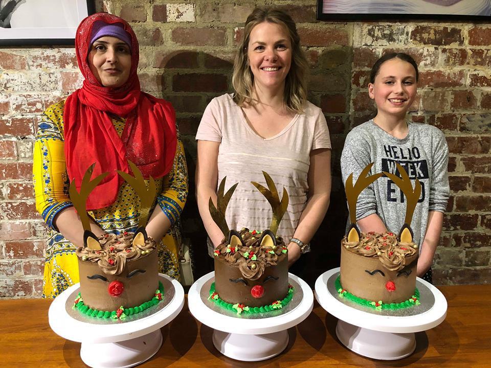 Rain Deer Cake Class 2