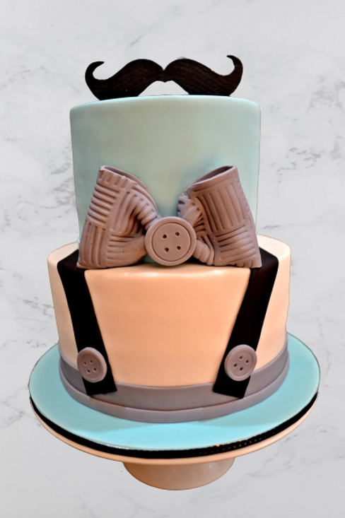 Little Man Celeberation Cake