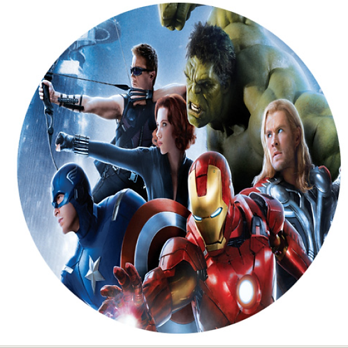 Avengers  - Round 8 Inch
