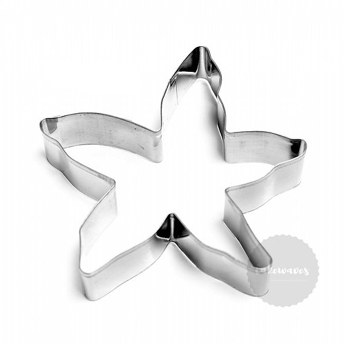 Starfish / Orchid Stainless Steel Cookie Cutter