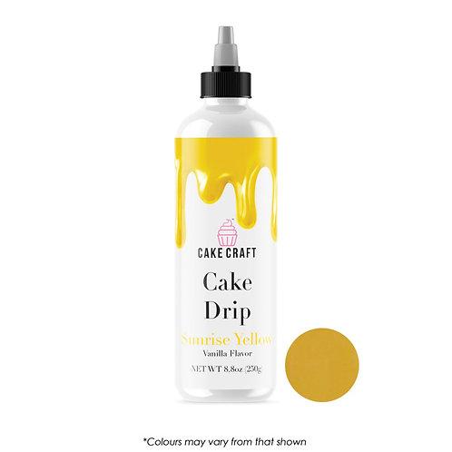 Cake Craft Cake Drip - Sunrise Yellow 250g