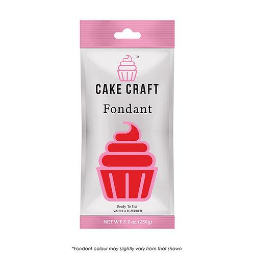 Cake Craft Fondant - Ruby Red 250g
