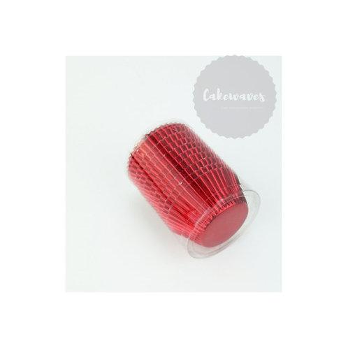 Red Foil Cupcake Case BULK 250pcs