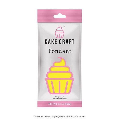 Cake Craft Fondant - Sunrise Yellow 250g