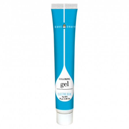 Cake Craft Colouring Gel - Electric Blue 30g