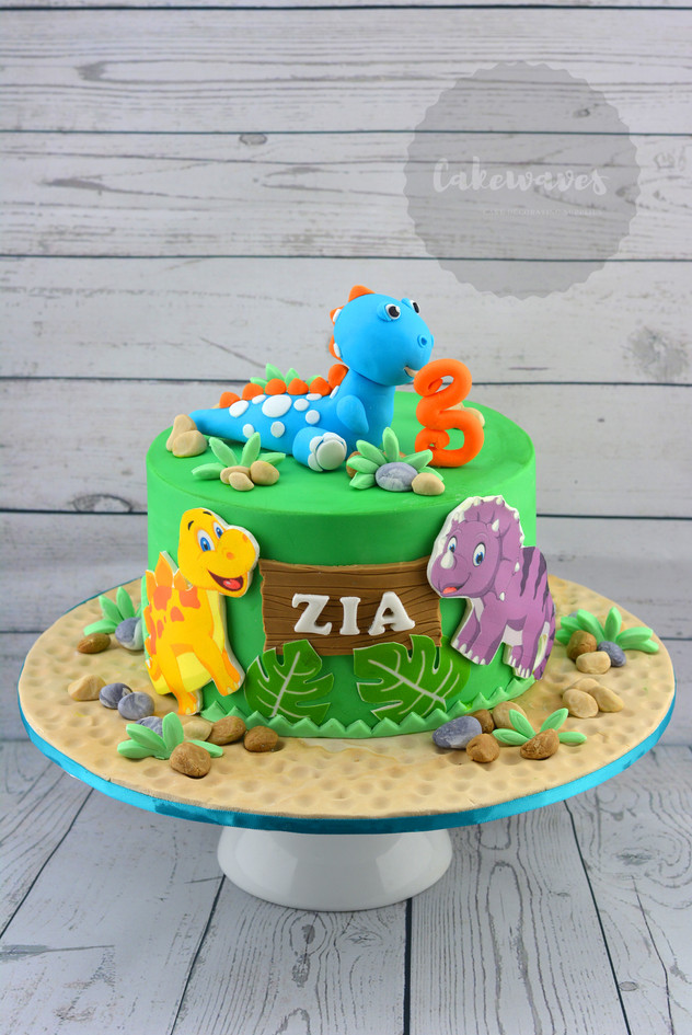 Dynasaur Cake