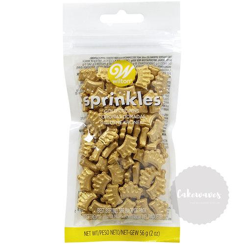 Gold Crown Sprinkles 56g pack