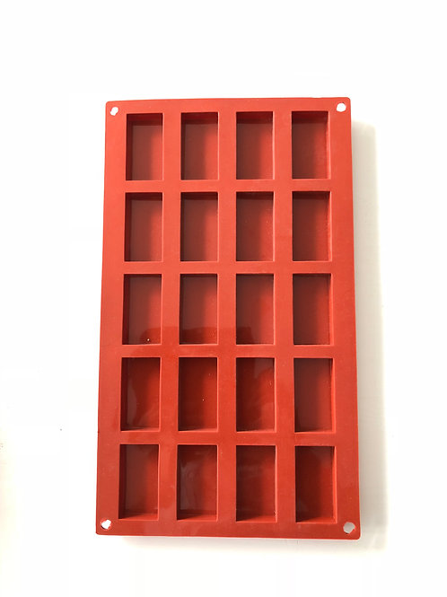 Silicone Bakeware - Rectangle 20 cavity