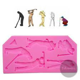 Sports Players Silicone Mould