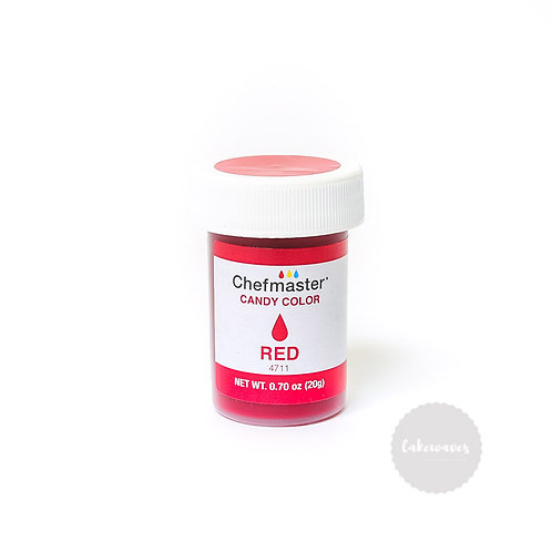 Chefmaster Oil Based Food Colouring - RED 0.75oz
