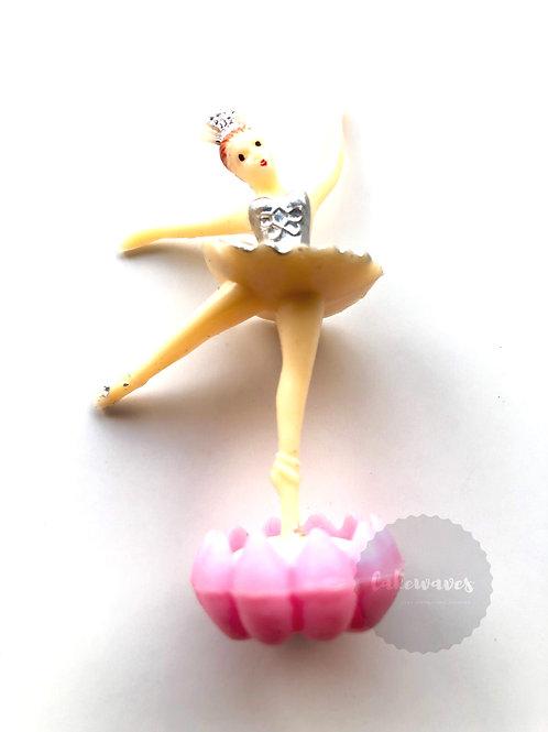 Ballerina Bud Cake Topper Figurine