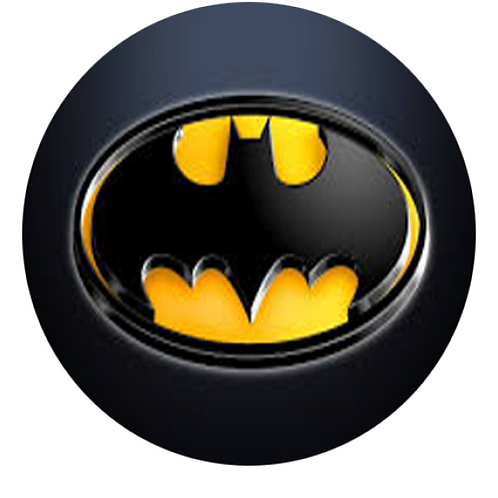 Batman Logo - Round