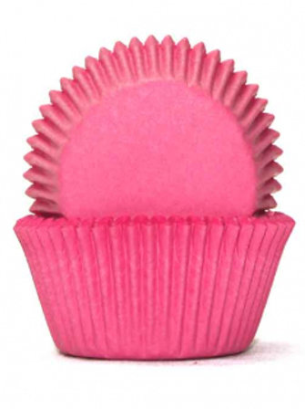 Cupcake Cases / Baking Cups Standard 100pc - Lolly Pink