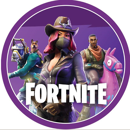 Fortnite Edible Image Style2 - Round