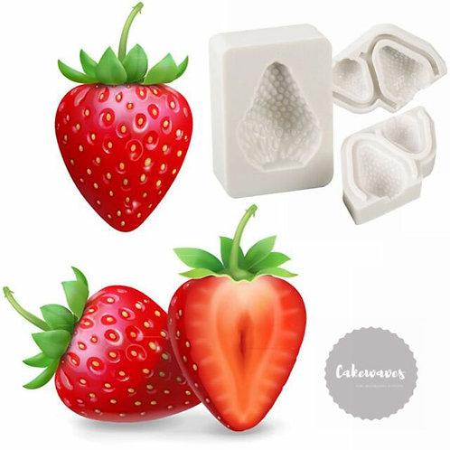 Strawberry Multi Cavity Silicone Moluld