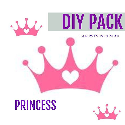 DIY Cupcake Activity Pack - Princess