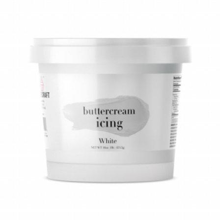 Cake Craft Buttercream - White 453g