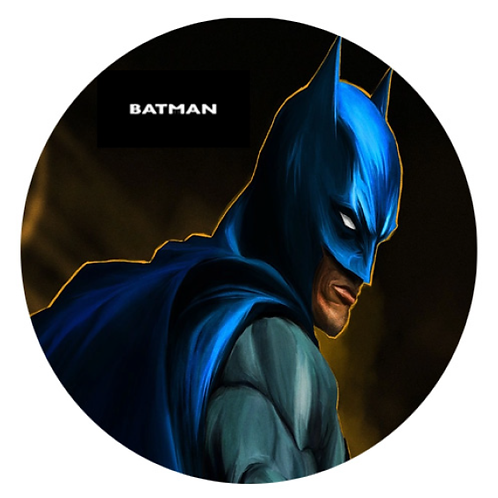 Batman - Round 8 Inch