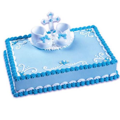 Christening Cake Topper Decorating Kit