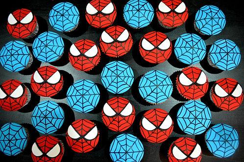 Spiderman Go Speedy - 12 Standard Size Cupcakes