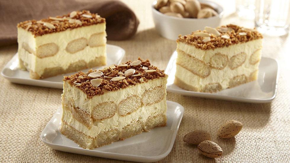 Tiramisu Toasted Almond Cake Whole