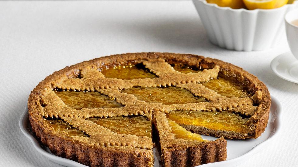 Crostata Limone Zenzero - Vegan