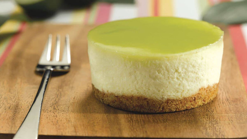 Mini Key Lime Cheesecake