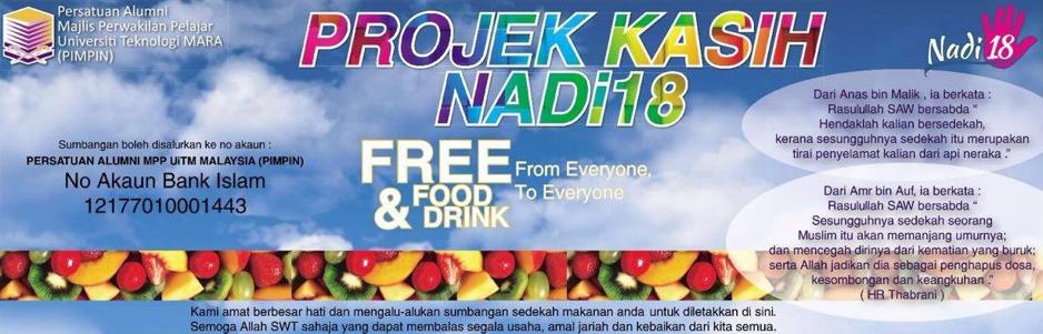 NADI 18 :  Free Food & Drinks