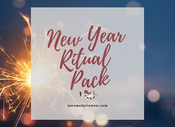 New Year's Digital Ritual Pack