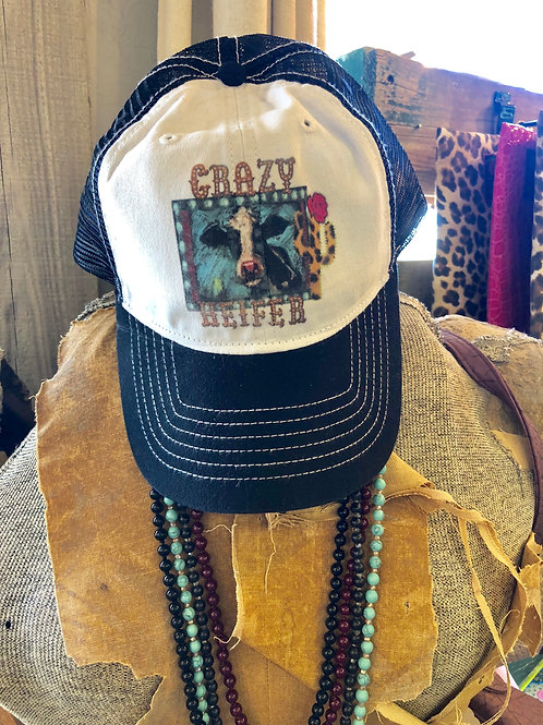 Crazy Heifer Trucker Hat