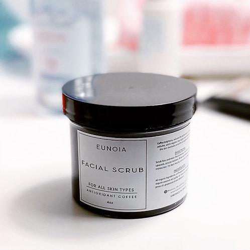 Eunoia The Self Care Collection 'Antioxidant Coffee Face Scrub'