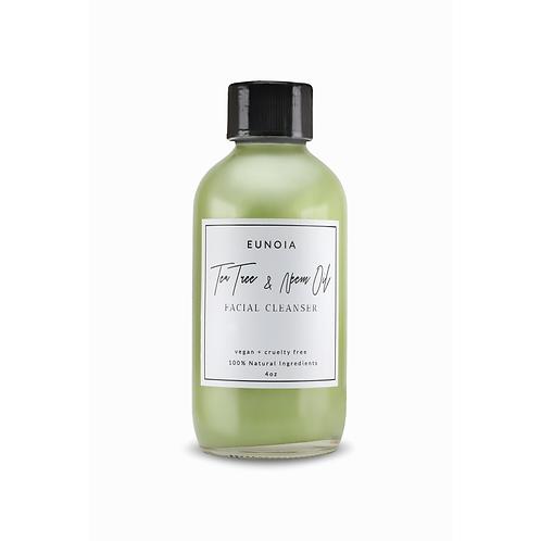 Eunoia The Self Care Collection 'Tea Tree & Neem Oil Facial Cleanser'