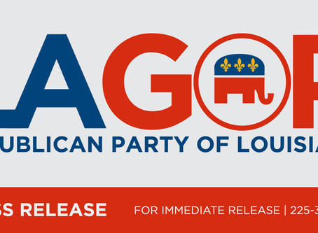 LAGOP Congratulates State Representatives on Successful Petition Override of Governor Edwards