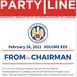 The Party Line Volume XXV
