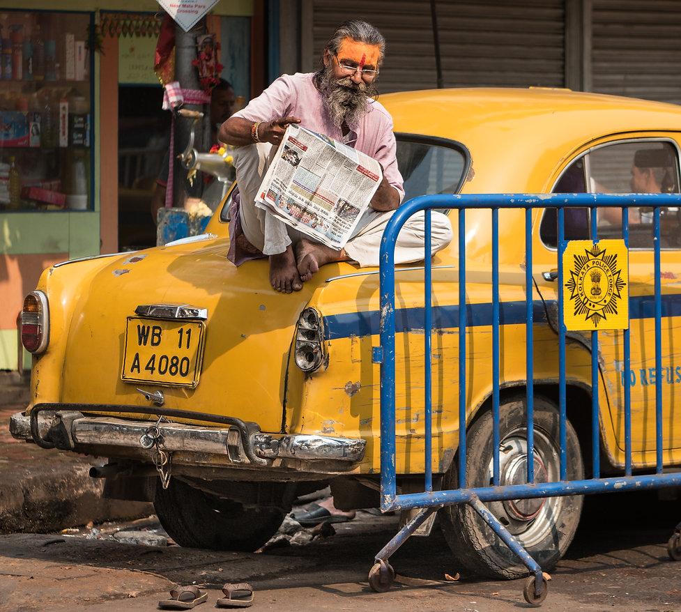 Kolkata, Taxi driver