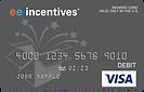 EE Incentives Visa® Prepaid Card