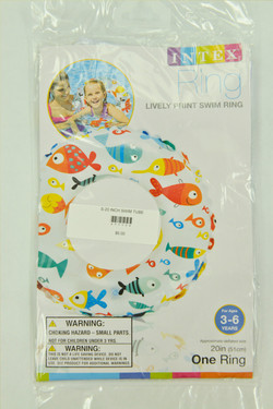 TUBE - WHITE 20 inch (fish)