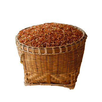Fotolia; basket of brown rice