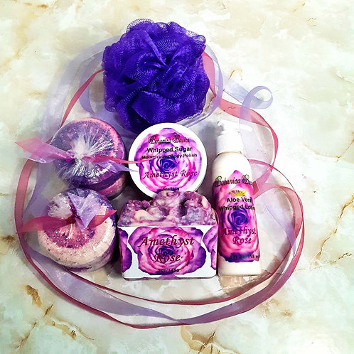 Amethyst Rose Bath Bliss 5 Piece